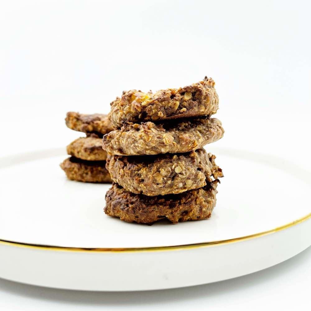 Cookie banane et chocolat par LeCabinetsportif